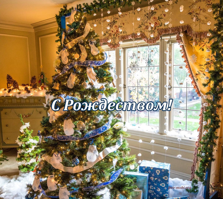 Обои - Рождественская елочка