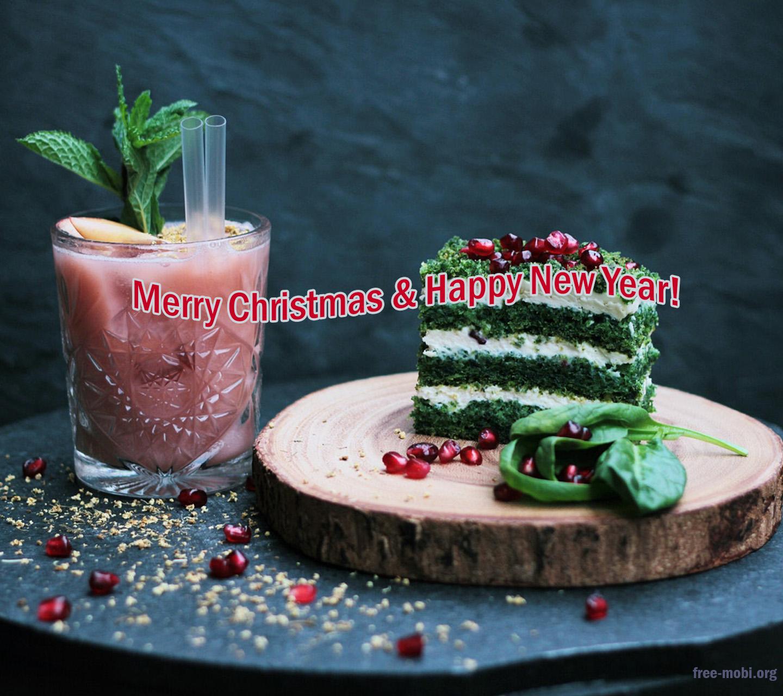 Обои - Вкусный праздничный кекс
