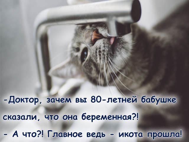 Открытка - Про икоту