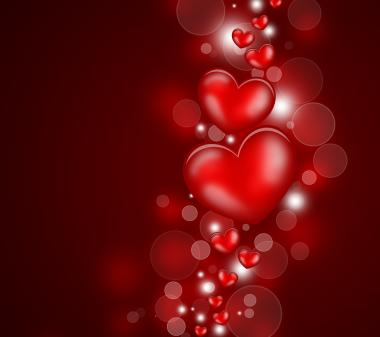 Открытка Сердечка