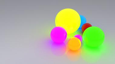 Светящиися шарики mini