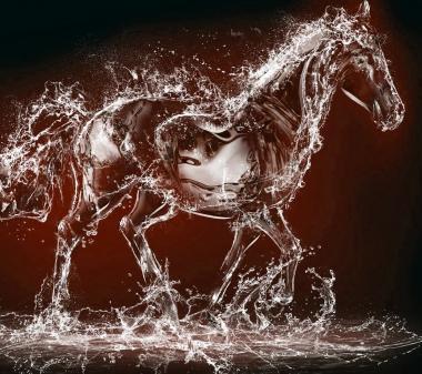 Лошадь из воды mini