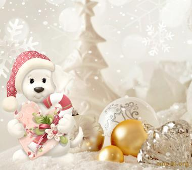Новый год собаки mini