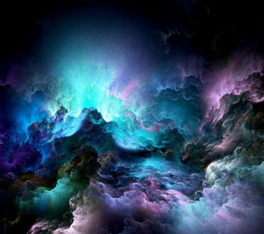 Разноцветные облака mini